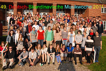German-Scandinavian Music Week 2011 49. Deutsch-Skandinavische Musikwoche